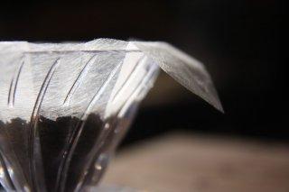 手漉き和紙の珈琲フィルター<br/>「立花」<br/>10枚セット(折り図無し)<br/>