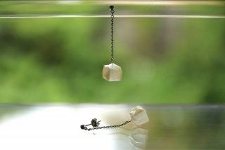 Origami Jewelry<br/> 「fuhsen」single <br/>ピアス/イヤリング<br/>きなりいろ<br/>