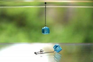 Origami Jewelry<br/> 「fuhsen」single <br/>ピアス/イヤリング<br/>そらいろ<br/>
