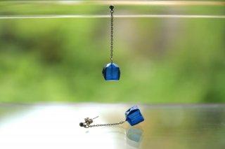 Origami Jewelry<br/> 「fuhsen」single <br/>ピアス/イヤリング<br/>あいいろ<br/>
