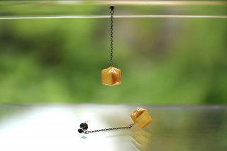 Origami Jewelry<br/> 「fuhsen」single <br/>ピアス/イヤリング<br/>なのはないろ<br/>