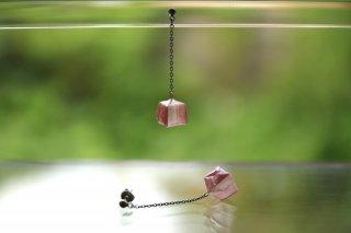 Origami Jewelry<br/> 「fuhsen」single <br/>ピアス/イヤリング<br/>なでしこいろ<br/>