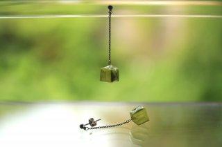 Origami Jewelry<br/> 「fuhsen」single <br/>ピアス/イヤリング<br/>ひわもえぎいろ<br/>