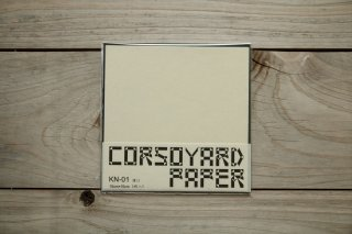CORSOYARD PAPER<br/>KN-01<br/>楮紙 無地 (美濃紙)<br/>15cm角<br/>