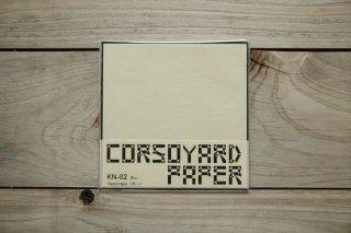 CORSOYARD PAPER<br/>KN-02<br/>楮紙 無地 (薄美濃紙)<br/>15cm角<br/>