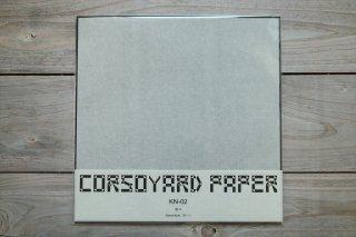 CORSOYARD PAPER<br/>KN-02<br/>楮紙 無地 (薄美濃紙)<br/>30cm角<br/>