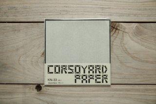 CORSOYARD PAPER<br/>KN-33<br/>極薄楮紙 無地 (柔紙)<br/>15cm角<br/>