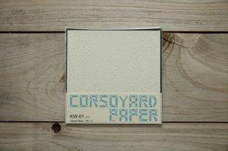 CORSOYARD PAPER<br/>KW-01<br/>落水紙「春雨」<br/>15cm角<br/>