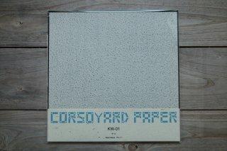 CORSOYARD PAPER<br/>KW-01<br/>落水紙「春雨」<br/>30cm角<br/>