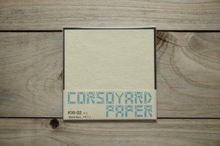 CORSOYARD PAPER<br/>KW-02<br/>落水紙「春雨」2層<br/>15cm角<br/>