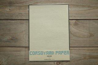 CORSOYARD PAPER<br/>KW-02<br/>落水紙「春雨」2層<br/>A4<br/>