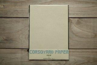 CORSOYARD PAPER<br/>KW-02<br/>落水紙「春雨」2層<br/>B5<br/>