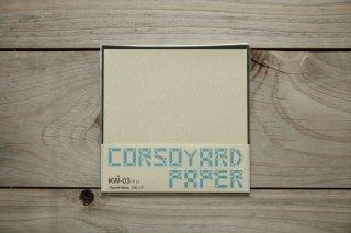 CORSOYARD PAPER<br/>KW-03<br/>落水紙「流水」<br/>15cm角<br/>