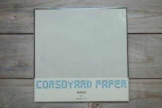 CORSOYARD PAPER<br/>KW-03<br/>落水紙「流水」<br/>30cm角<br/>