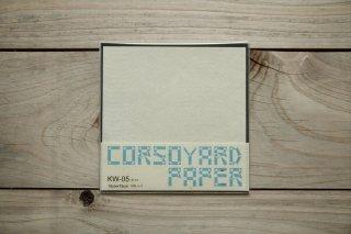 CORSOYARD PAPER<br/>KW-05<br/>落水紙「よろけ格子」<br/>15cm角<br/>