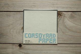 CORSOYARD PAPER<br/>KW-06<br/>落水紙「矢鱈格子」<br/>15cm角<br/>