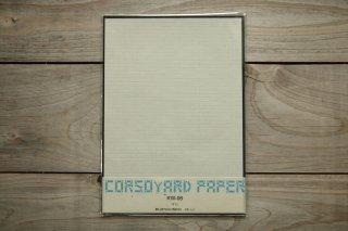 CORSOYARD PAPER<br/>KW-06<br/>落水紙「矢鱈格子」<br/>B5<br/>