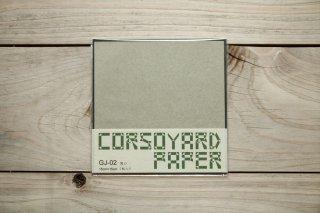 CORSOYARD PAPER<br/>GJ-02<br/>雁皮紙 漉き合わせ多層紙<br/>15cm角<br/>