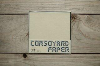 CORSOYARD PAPER<br/>FO-01<br/>楮雁皮混合紙・折り紙専用紙<br/>15cm角<br/>