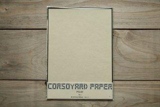 CORSOYARD PAPER<br/>FO-01<br/>楮雁皮混合紙・折り紙専用紙<br/>B5<br/>
