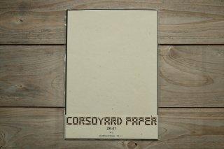CORSOYARD PAPER<br/>ZK-01<br/>粕紙・主に楮チリ<br/>A4<br/>