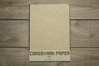 CORSOYARD PAPER<br/>ZG-11<br/>粕紙・主に雁皮チリ<br/>A4<br/>