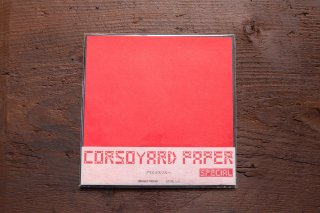 CORSOYARD PAPER<br/>SPECIAL<br/>クリスマスツルー<br/>19cm角<br/>