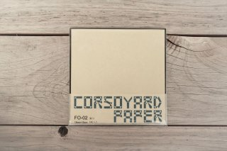CORSOYARD PAPER<br/>FO-02<br/>楮雁皮混合紙・折り紙専用紙<br/>15cm角<br/>