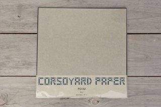 CORSOYARD PAPER<br/>FO-02<br/>楮雁皮混合紙・折り紙専用紙<br/>30cm角<br/>