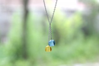 Origami Jewelry <br/>「fuhsen」 <br/>ネックレス<br/>なのはないろ そらいろ<br/>
