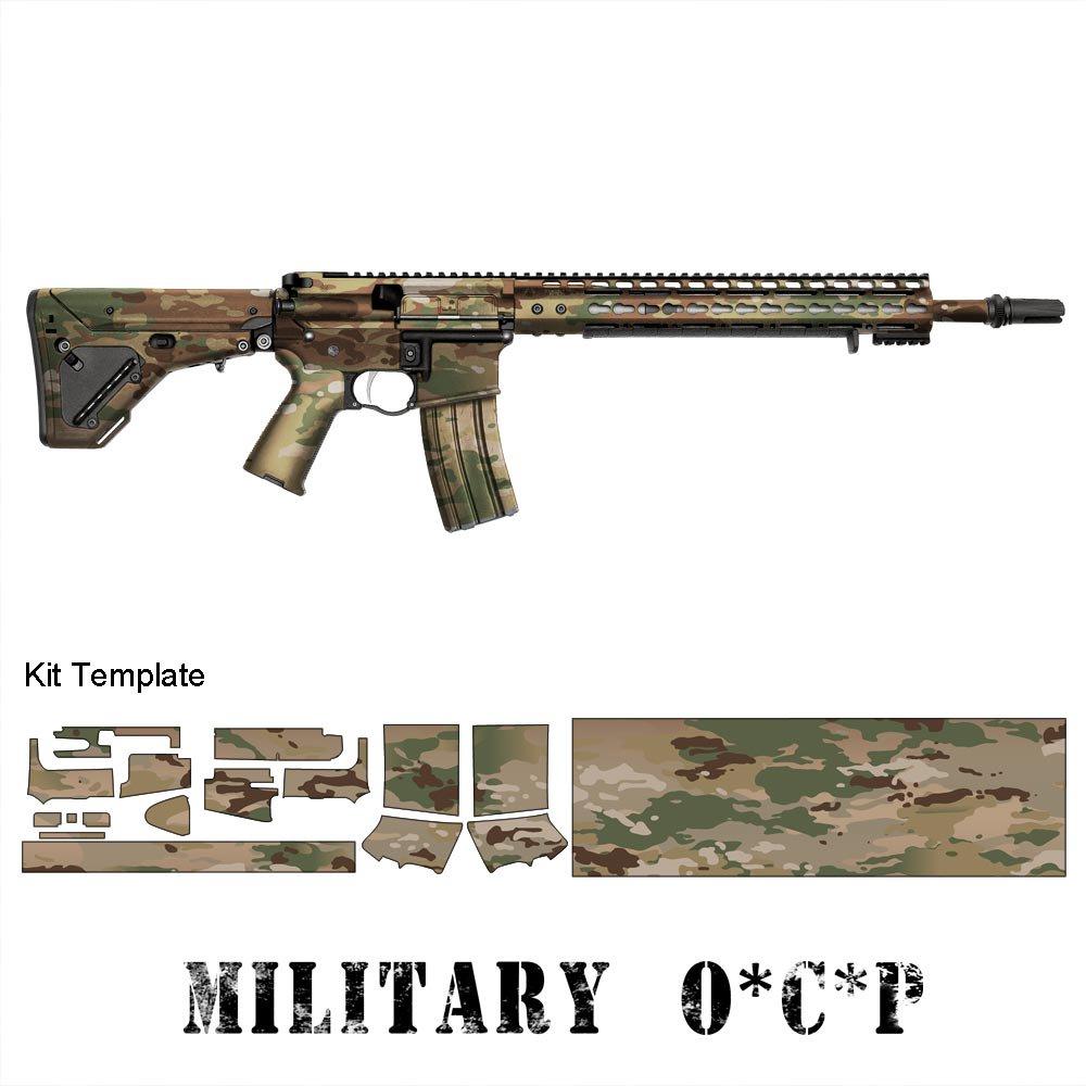 ar 15 m4 rifle skin gunskins ガンスキンズ
