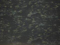 Multicam Black CORDURA 500D Nylon ハーフカット生地