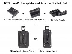 R2S Level2 Baseplate and Adapter Switch Set