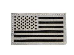 US Flag IR Patch - Multicam Alpine and Black