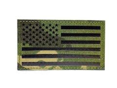 US Flag IR Patch - Multicam Tropic