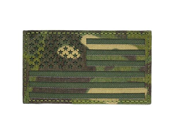 US Flag IR Patch - Multicam Tropic and OD