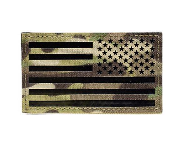 US Flag IR Patch - Multicam