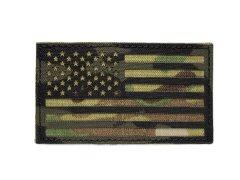 US Flag IR Patch - Multicam and Black 【予約品】