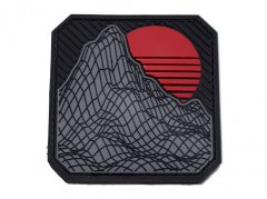 Retro Rock PVC Morale patch - Urban