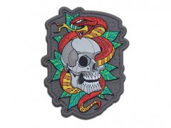 Skull Snake 2 Patch - Full Color