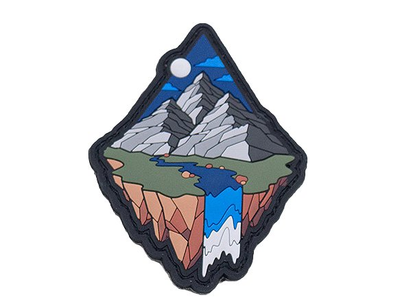 Mountin Diamond Patch - Grey
