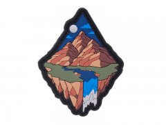 Mountin Diamond Patch - Brown