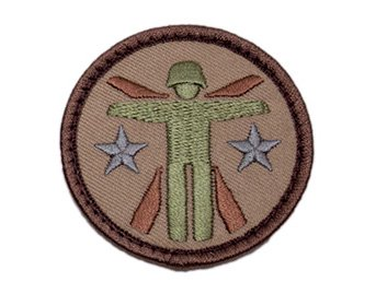 Soldier Systems Logo Patch - Desert