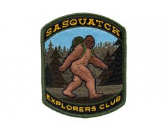 Sasquatch Explorers Club Patch