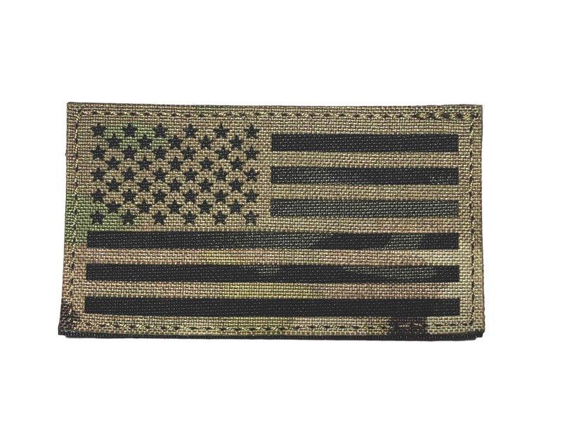 US Flag IR Patch - Multicam and Multicam Black