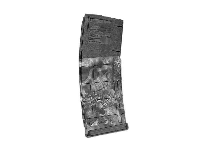 【取寄せ】M4 Mag Skins Single Pack - Reaper Black