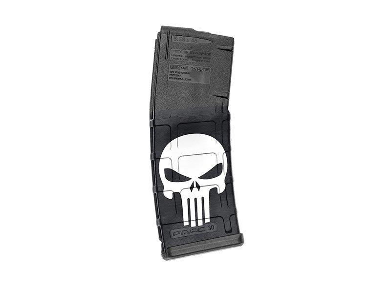 【取寄せ】M4 Mag Skins Single Pack - Skull