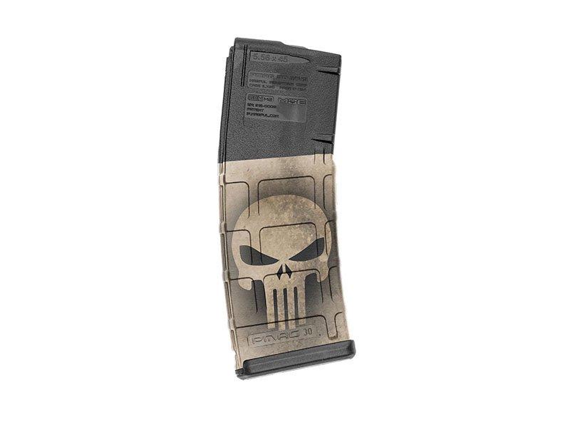M4 Mag Skins Single Pack - Skull Tan