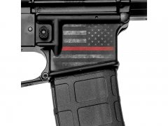 Magwell Skin - Thin Red Line
