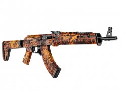 【取寄せ】AK-47 Rifle Skin - Prym1 Fire Storm